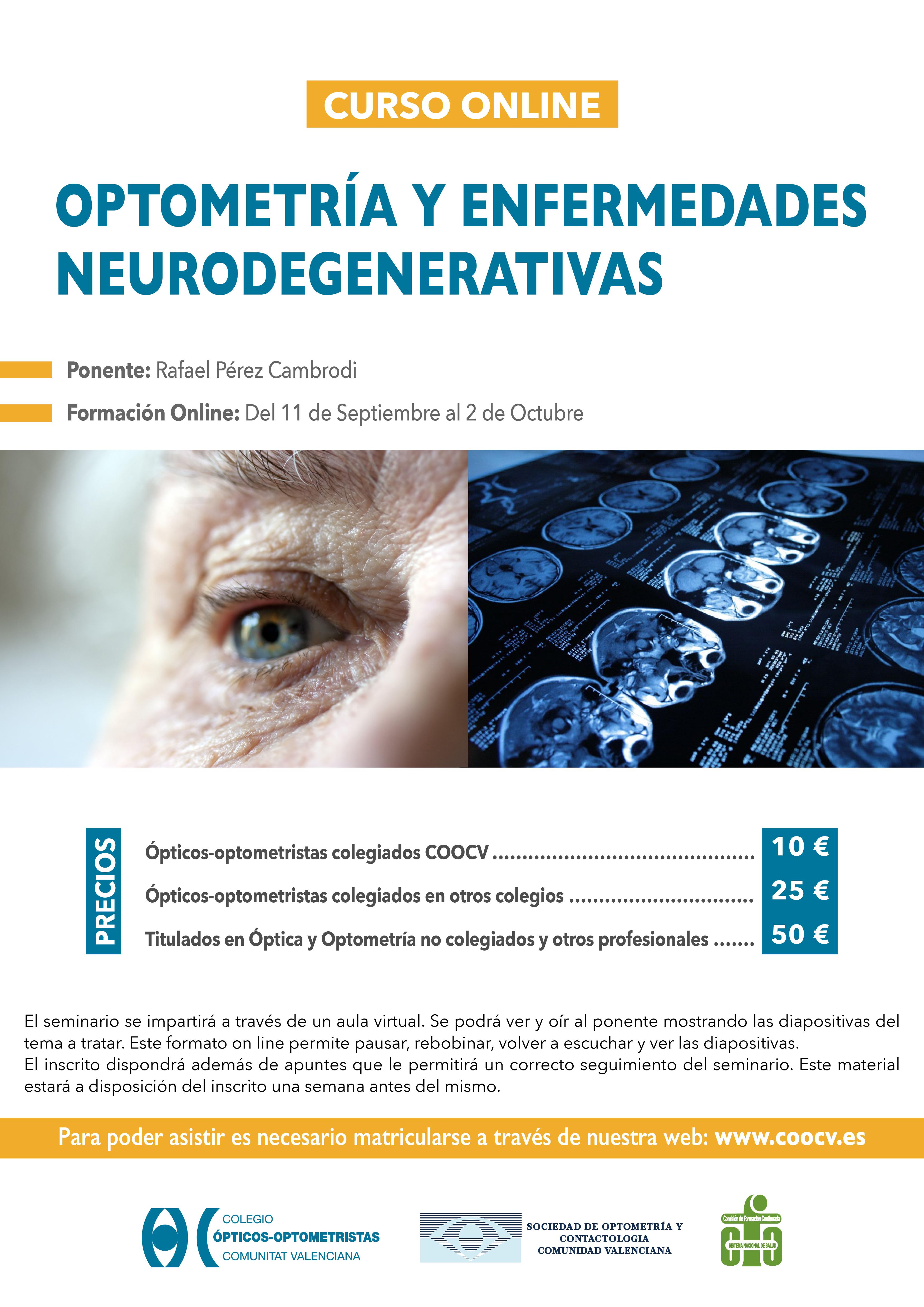 Optometría y enfermedades neurodegenerativas